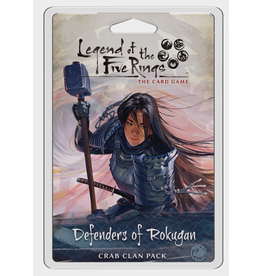 Fantasy Flight Games Legend of the Five Rings LCG: Defenders of Rokugan - Crab Clan Pack