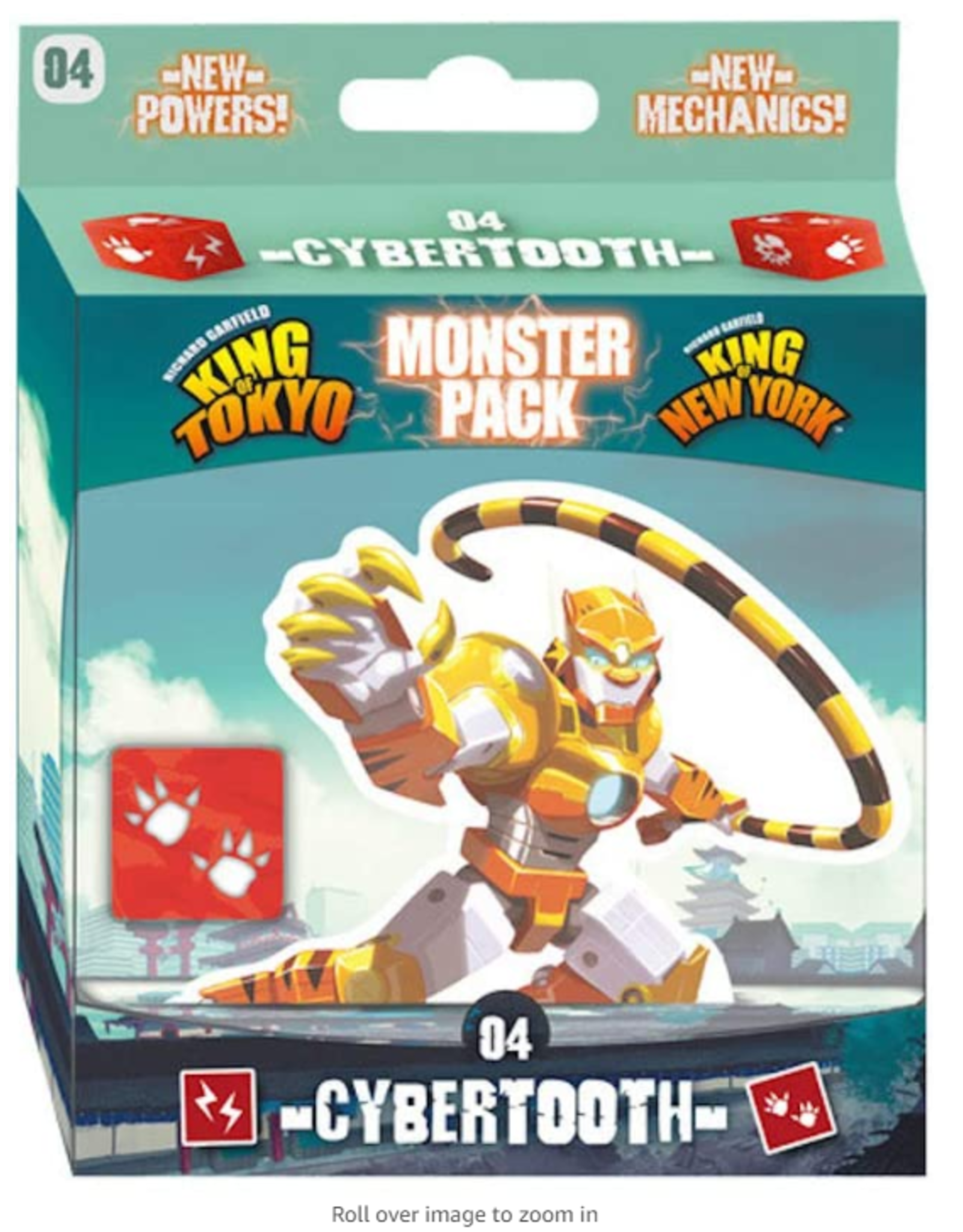 iello King of Tokyo: Cybertooth Monster Pack