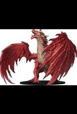 Wizkids Gargantuan Red Dragon: PF Deep Cuts Unpainted Miniatures