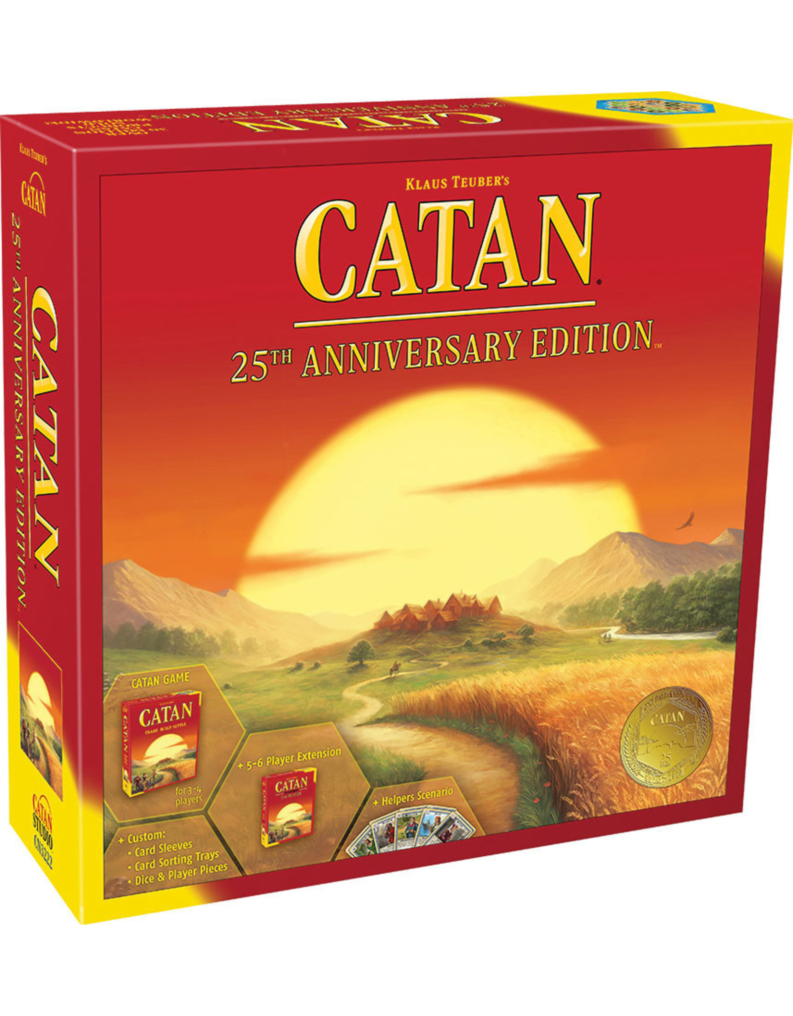 Catan Studios PREORDER: Catan: 25th Anniversary Edition