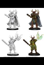 Wizkids W10 Male Half-Orc Druid: PF Deep Cuts Unpainted Minis