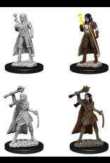 Wizkids W10 Female Elf Cleric: D&D Nolzurs Marvelous Unpainted Minis