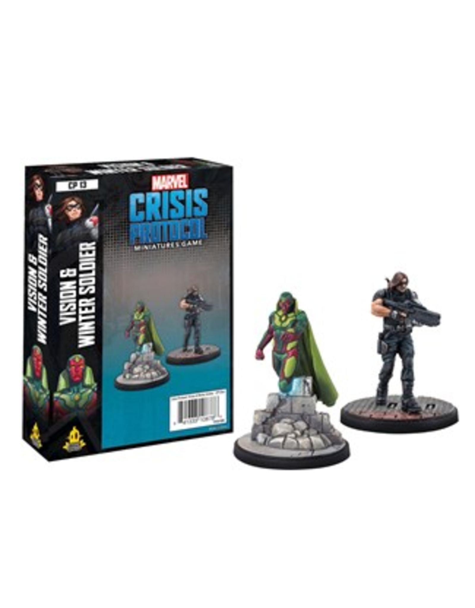 Atomic Mass Games Marvel: Crisis Protocol - Vision and Winter Soldier Character Pack