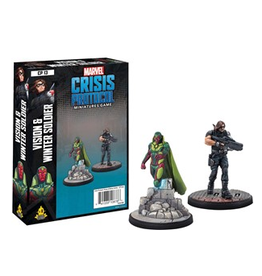 Atomic Mass Games Vision and Winter Soldier Character Pack - Marvel Crisis Protocol