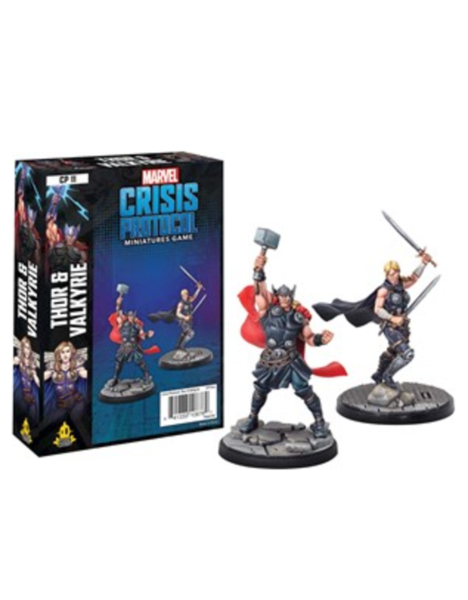 Atomic Mass Games Thor and Valkyrie Character Pack - Marvel Crisis Protocol