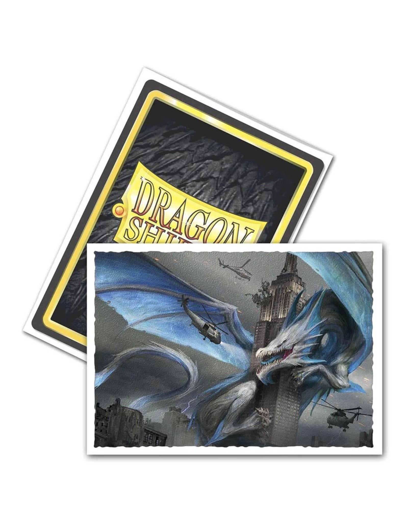 Arcane Tinmen Dragon Shield: (100) Art Sleeves Empire State Dragon