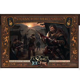 Cool Mini or Not A Song of Ice & Fire Tabletop Miniatures Game: Stormcrows Mercenaries