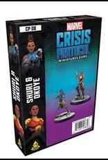 Atomic Mass Games Marvel: Crisis Protocol - Shuri and Okoye Character Pack
