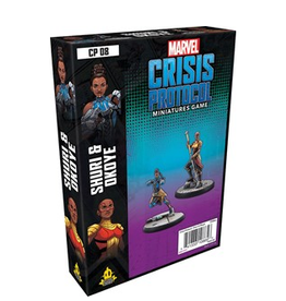 Atomic Mass Games Shuri and Okoye Character Pack - Marvel Crisis Protocol