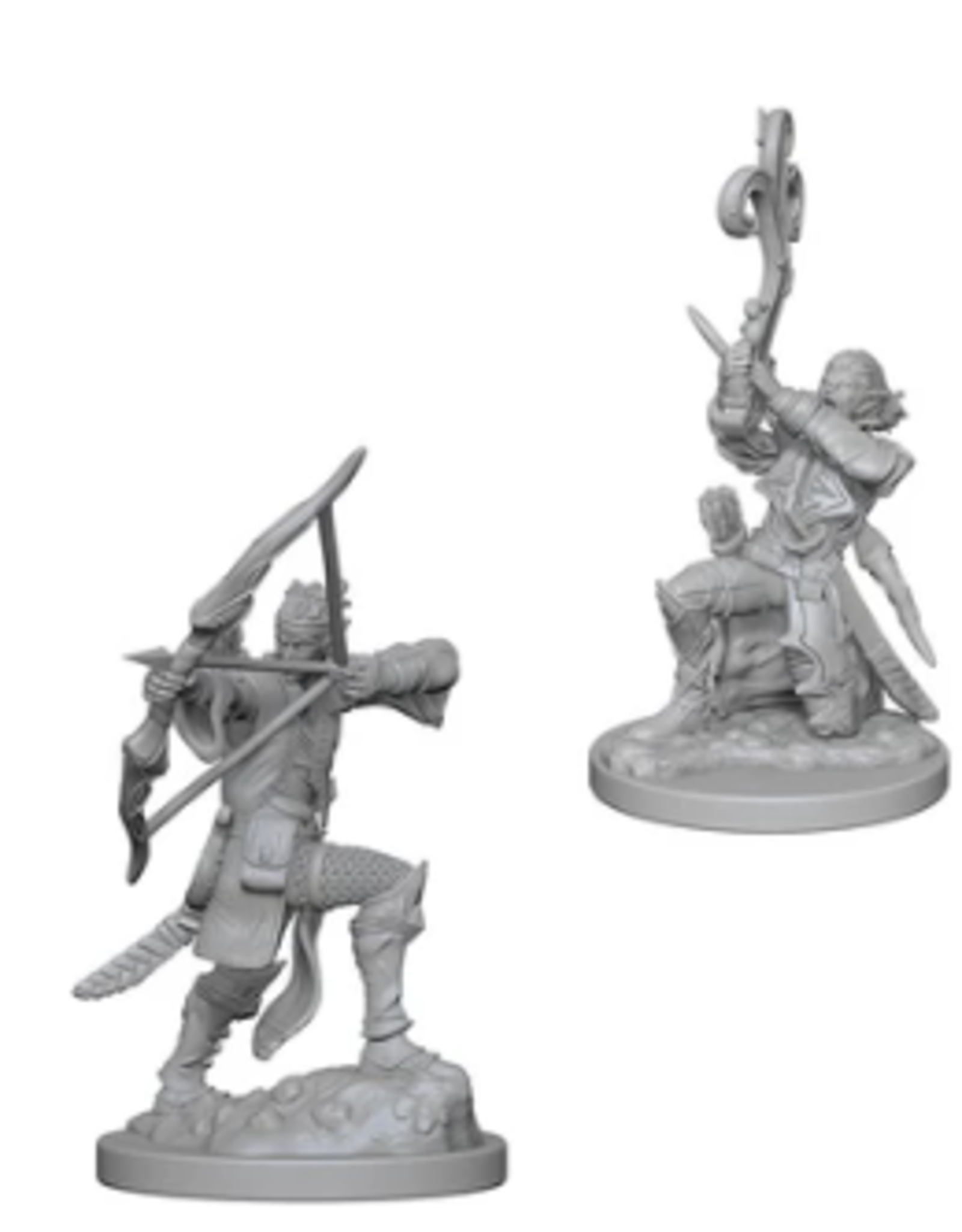Wizkids Elf Male Bard: D&D Nolzurs Marvelous Unpainted Minis