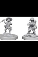 Wizkids Male Halfling Rogue: PF Deep Cuts Unpainted Miniatures