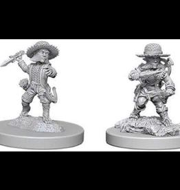 Wizkids PF Deep Cuts Unpainted Miniatures: Male Halfling Rogue