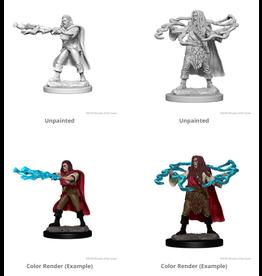 Wizkids Human Male Sorcerer: D&D Nolzurs Marvelous Unpainted Minis