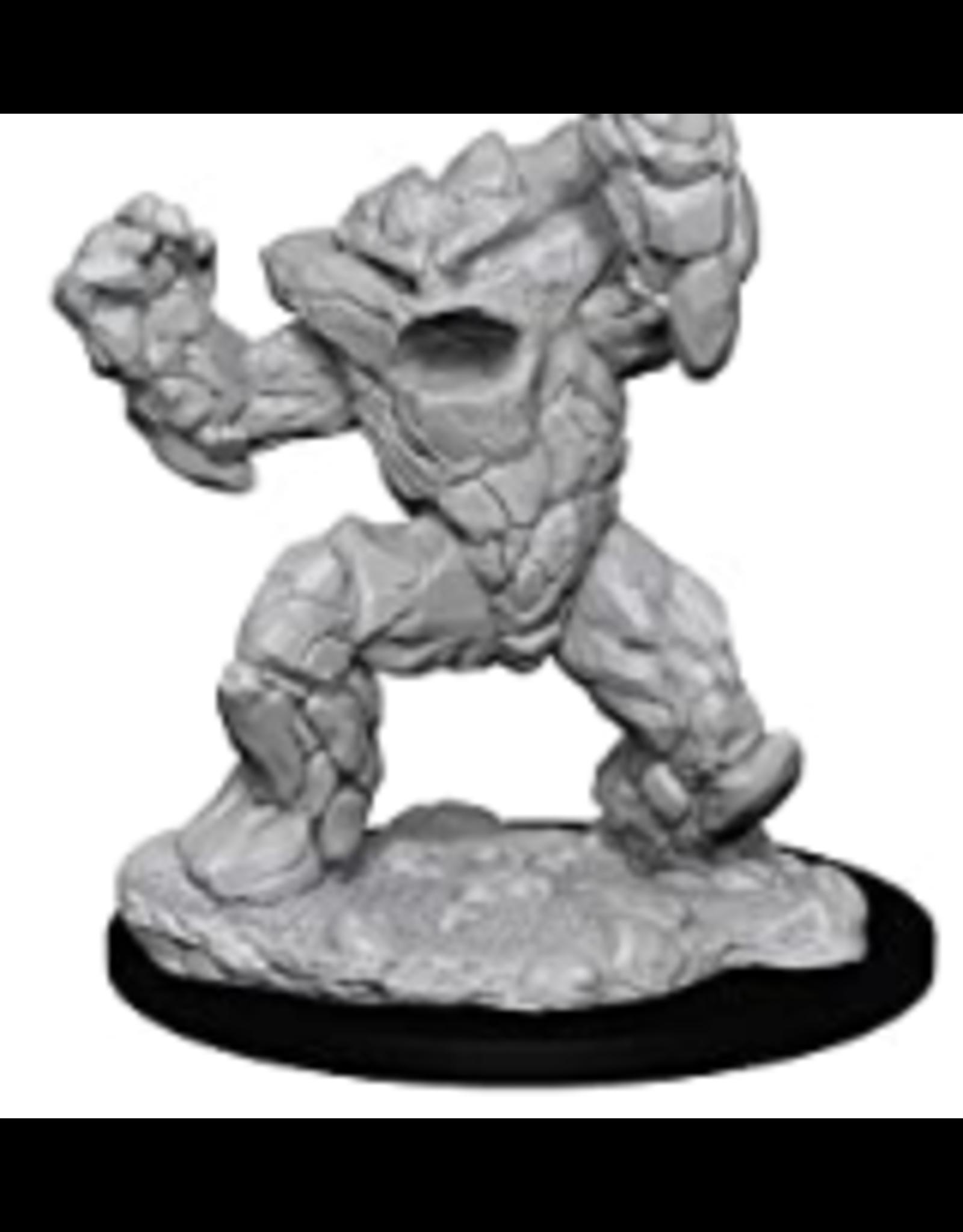 Wizkids W10 Earth Elemental: D&D Nolzurs Marvelous Unpainted Minis