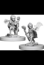 Wizkids Gnome Male Druid: PF Deep Cuts Unpainted Miniatures