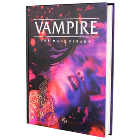 Modiphius Vampire The Masquerade: 5th Edition Core Rulebook Hardcover
