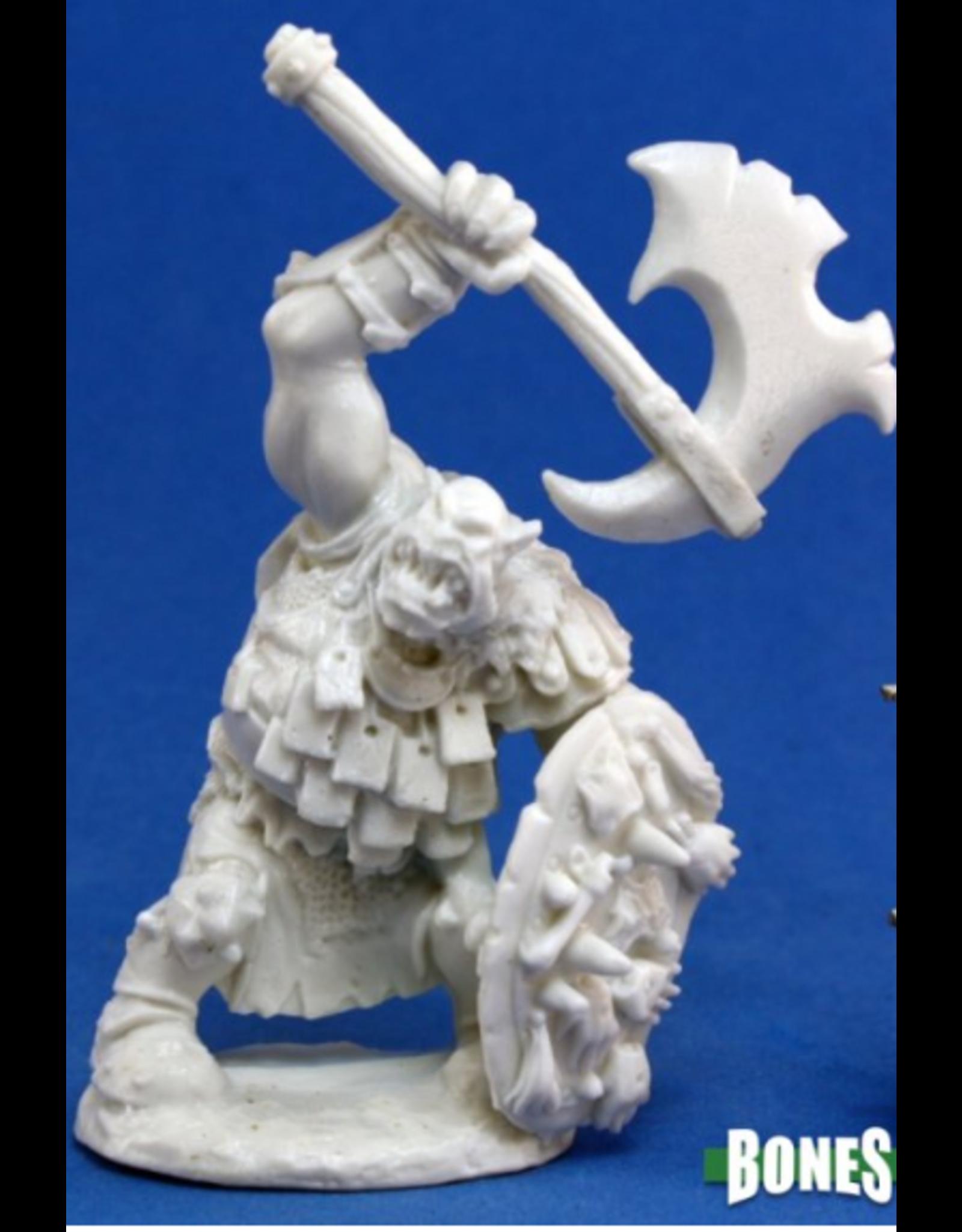 Reaper Bones: Kavorgh Orc Warboss