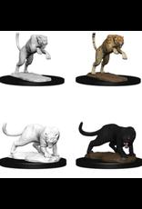 Wizkids Panther & Leopard: D&D Nolzurs Marvelous Unpainted Minis