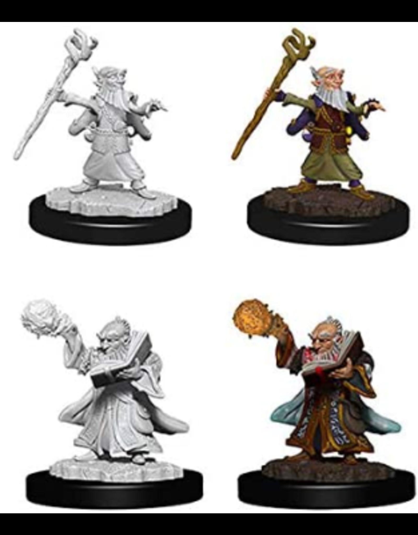 Wizkids Male Gnome Wizard: D&D Nolzurs Marvelous Unpainted Minis