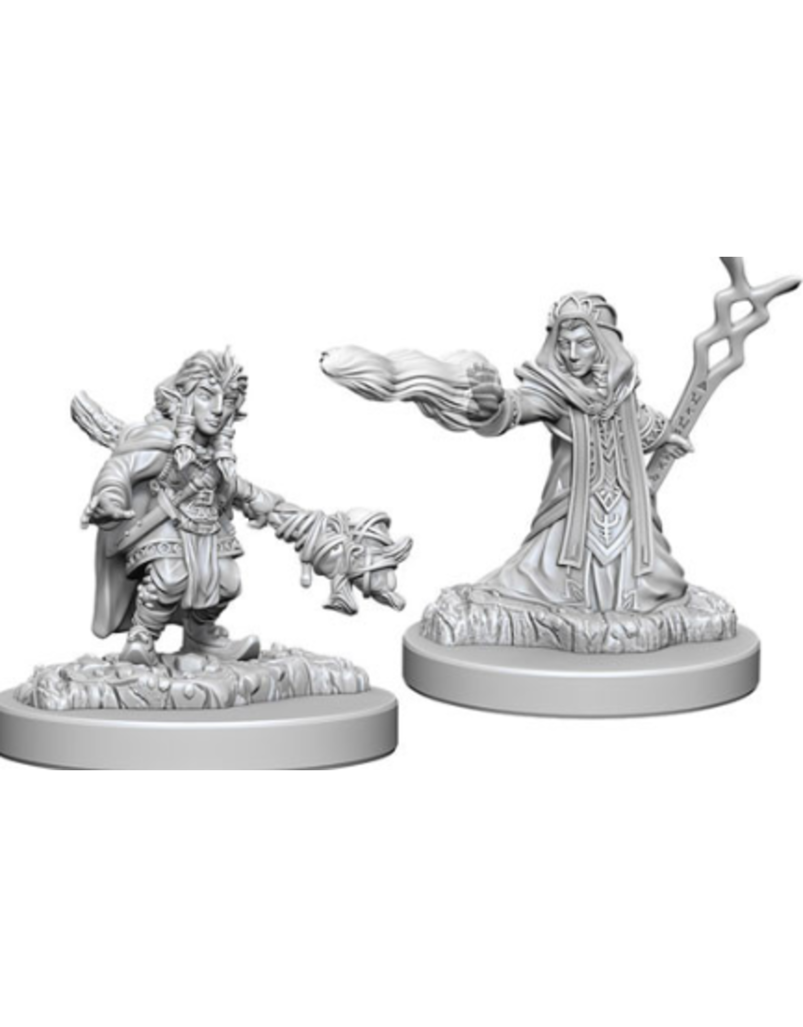 Wizkids Female Gnome Wizard: D&D Nolzurs Marvelous Unpainted Minis