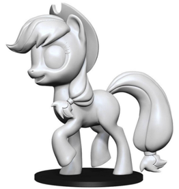 Wizkids Apple Jack: My Little Pony Deep Cuts Unpainted Miniatures