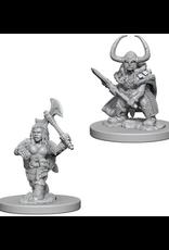 Wizkids Dwarf Female Barbarian: D&D Nolzurs Marvelous Unpainted Minis
