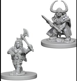 Wizkids D&D Nolzurs Marvelous Unpainted Minis: Dwarf Female Barbarian