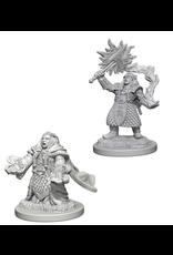 Wizkids Dwarf Female Cleric: D&D Nolzurs Marvelous Unpainted Minis