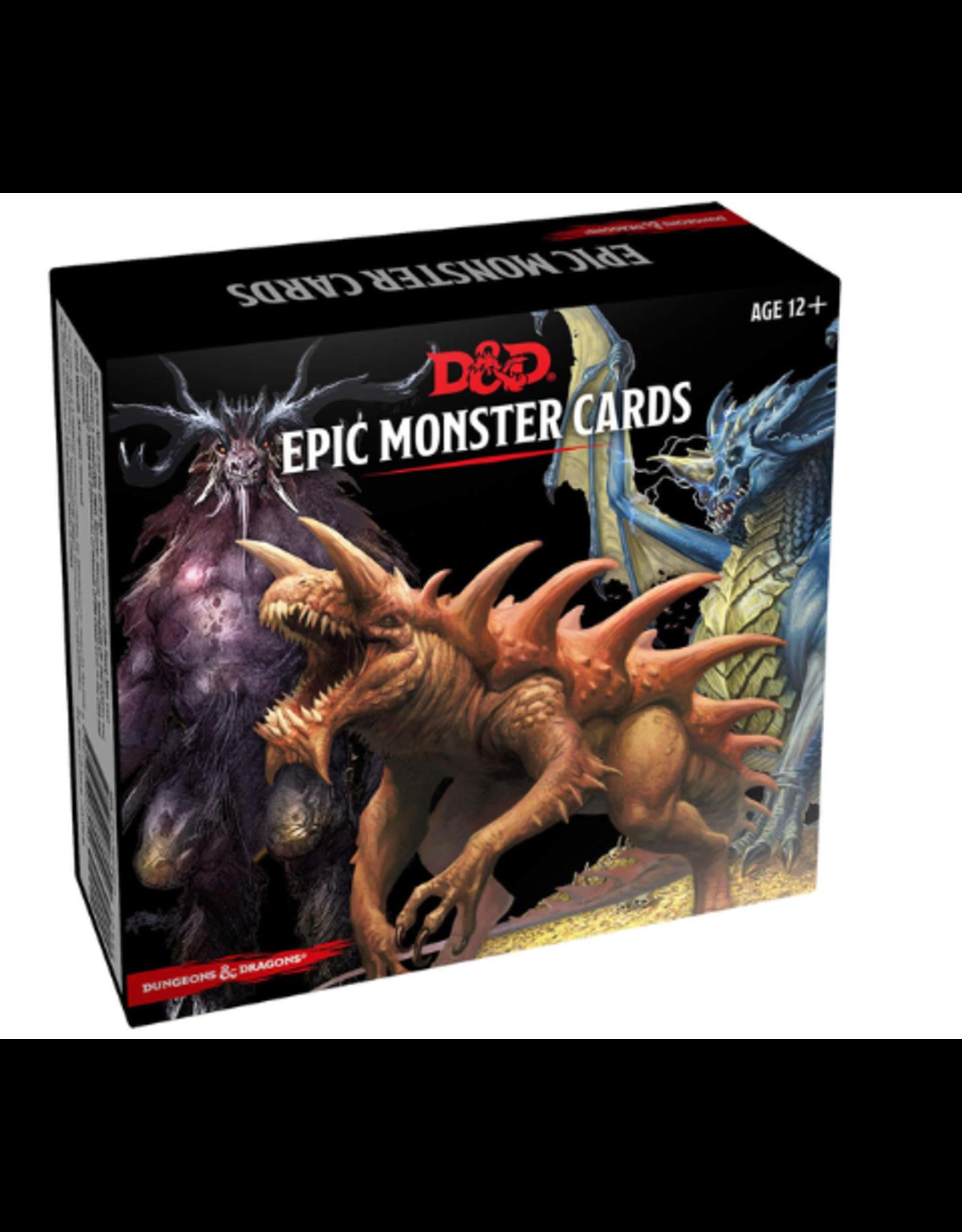 GaleForce Nine D&D 5th Edition: Monster Cards - Epic Monster Cards