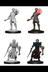 Wizkids W10 Male Human Warlock: D&D Nolzurs Marvelous Unpainted Minis