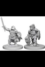 Wizkids Dwarf Female Paladin: D&D Nolzurs Marvelous Unpainted Minis