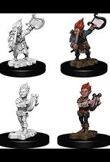 Wizkids Gnome Male Bard: PF Deep Cuts Unpainted Miniatures