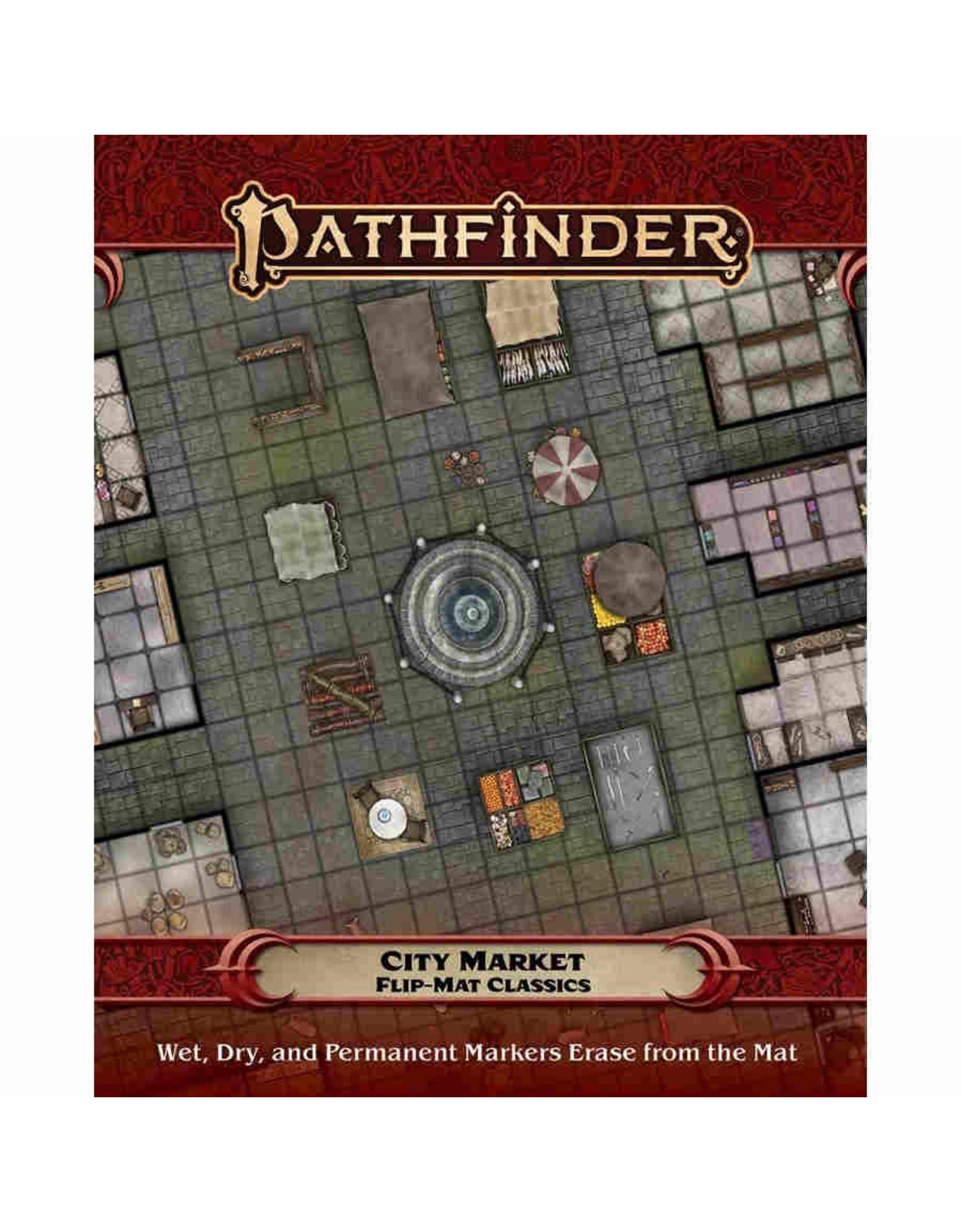 Paizo Pathfinder RPG: Flip-Mat Classics - City Market