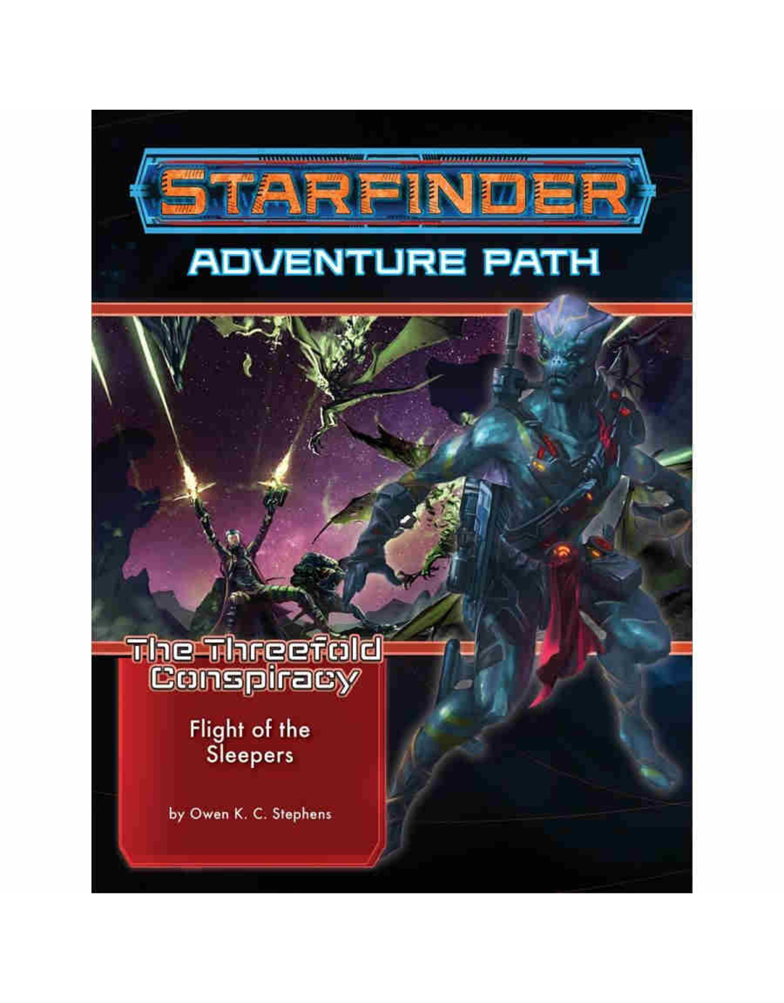 Paizo Starfinder Adventure Path: The Threefold Conspiracy 2 - Flight of the Sleepers
