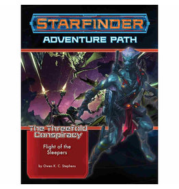 Paizo Starfinder Adventure Path: The Threefold Conspiracy 2 - Flight of the Sleepers