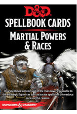 GaleForce Nine D&D 5th Edition: Spellbook Cards: Martial Powers and Races