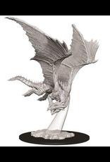Wizkids W9 Young Bronze Dragon: D&D Nolzurs Marvelous Unpainted Minis