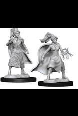 Wizkids W10 Female Human Sorcerer: D&D Nolzurs Marvelous Unpainted Minis