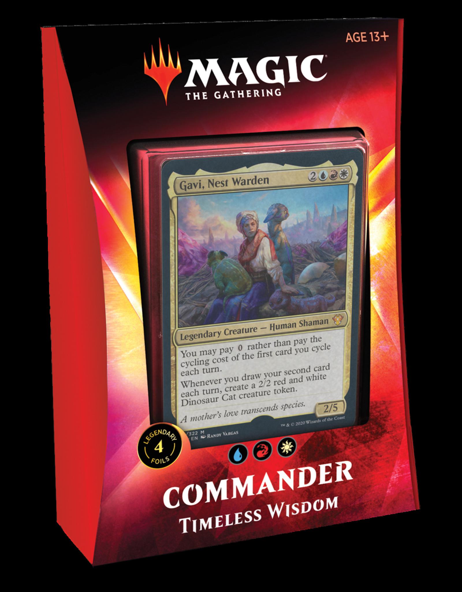Wizards of the Coast Magic: Commander 2020 Deck - Timeless Wisdom