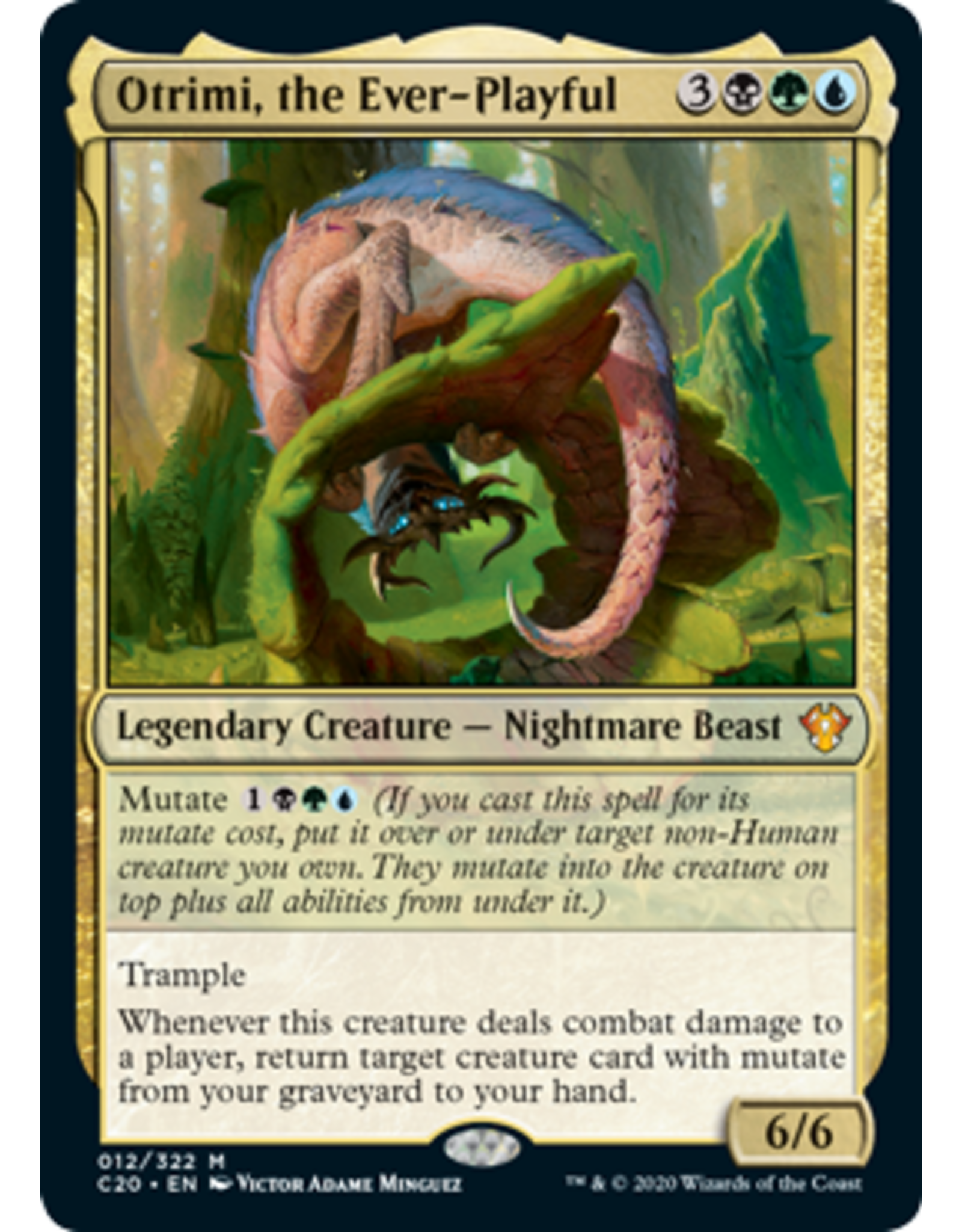 Wizards of the Coast Magic: Commander 2020 Deck - Enhanced Evolution