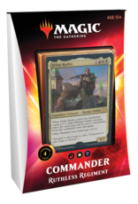 Wizards of the Coast Magic: Commander 2020 Deck - Ruthless Regiment