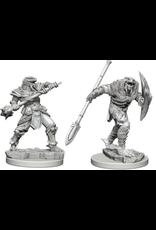 Wizkids Dragonborn Fighter with Spear: D&D Nolzurs Marvelous Unpainted Minis