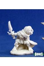 Reaper Dark Heaven Bones: Hellakin Goregutter Halfling Rogue