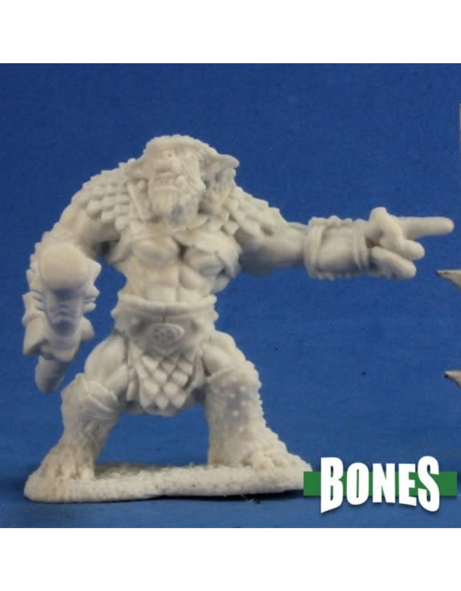 Reaper Dark Heaven Bones: Rugg Bugbear Leader (Pointing)