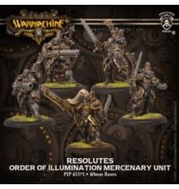 Privateer Press Order of Illumination Resolutes WARMACHINE