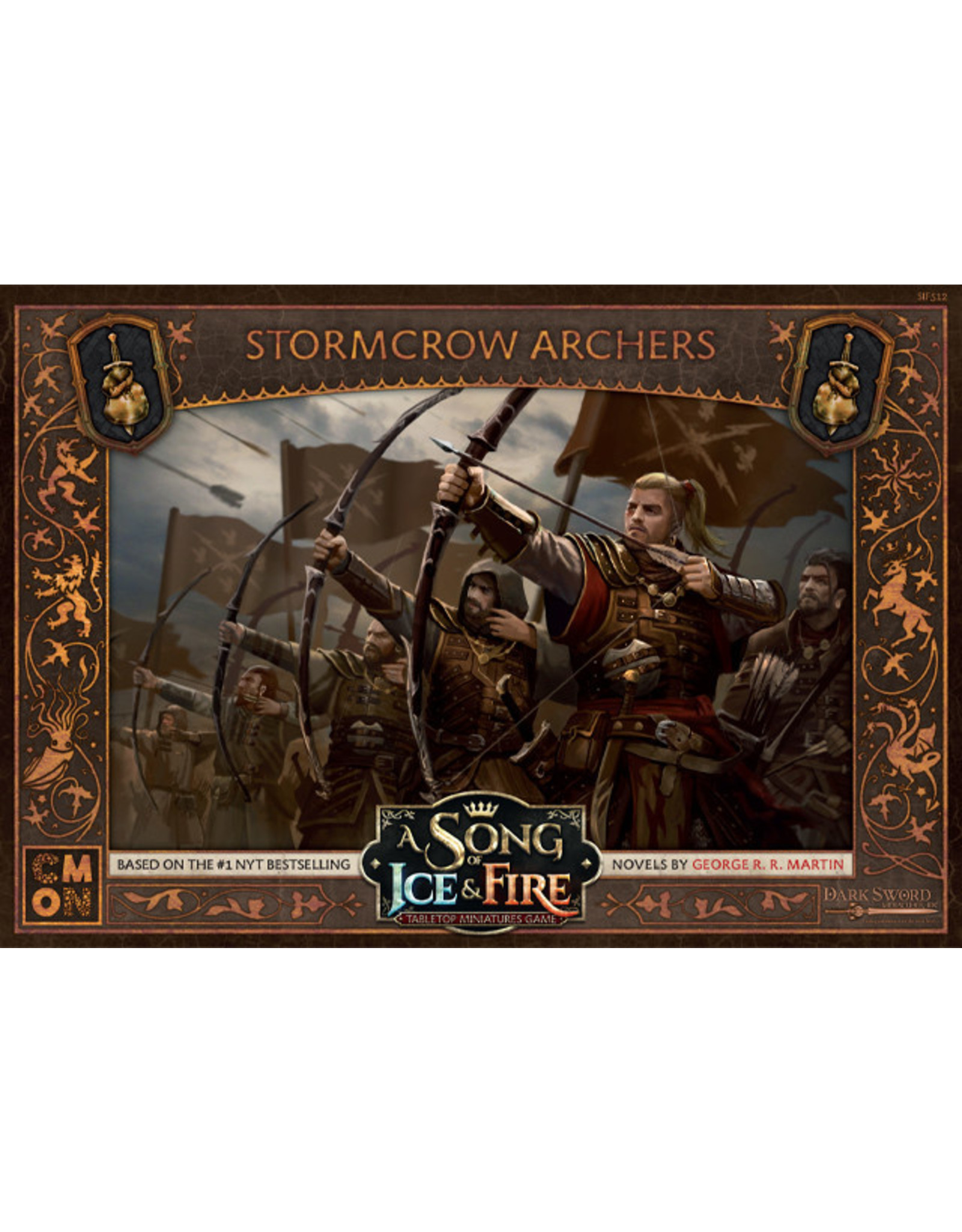 Cool Mini or Not A Song of Ice & Fire Tabletop Miniatures Game: Stormcrows Archers