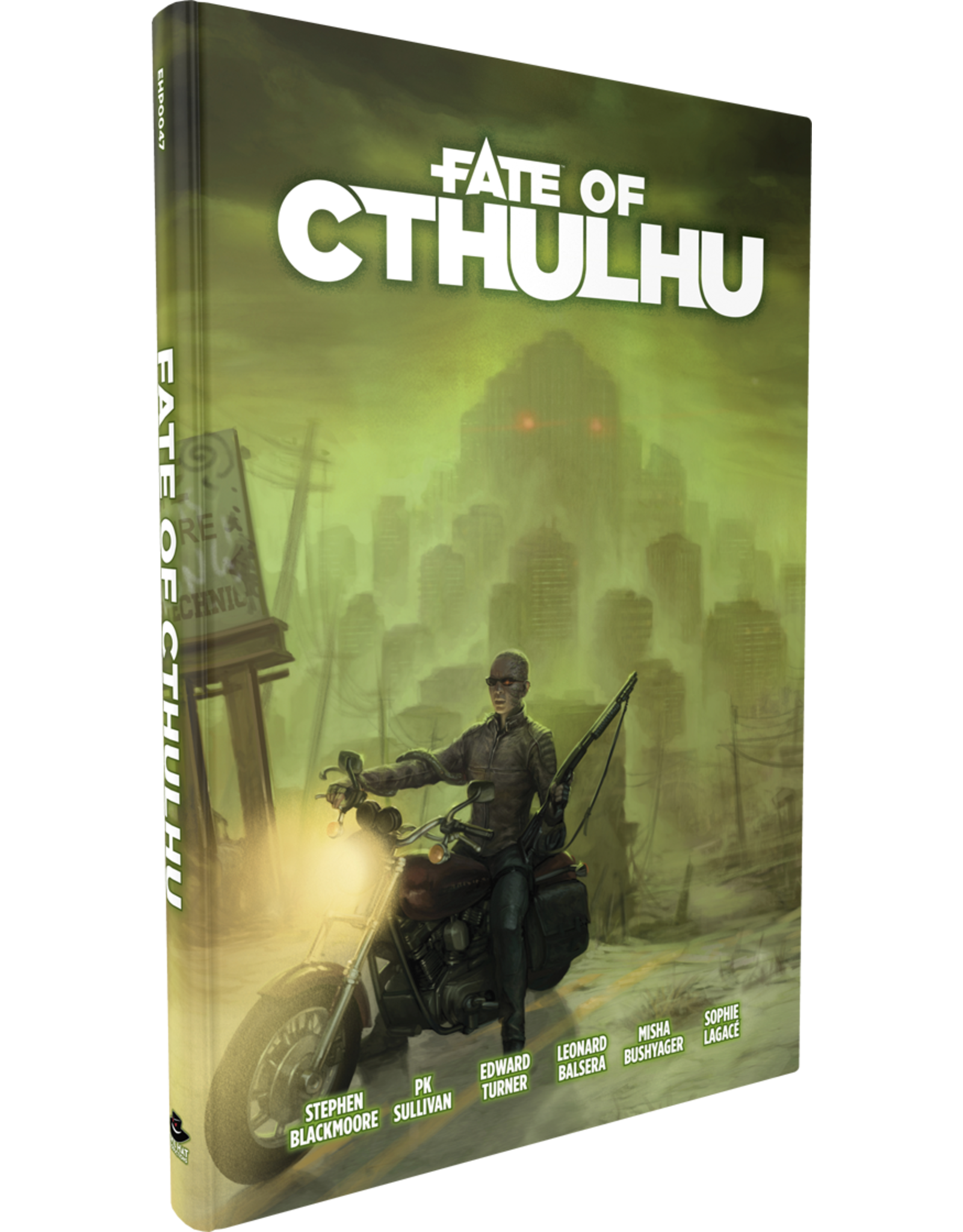 Evil Hat Productions Fate Core RPG: Fate of Cthulhu Core Rules Hardcover