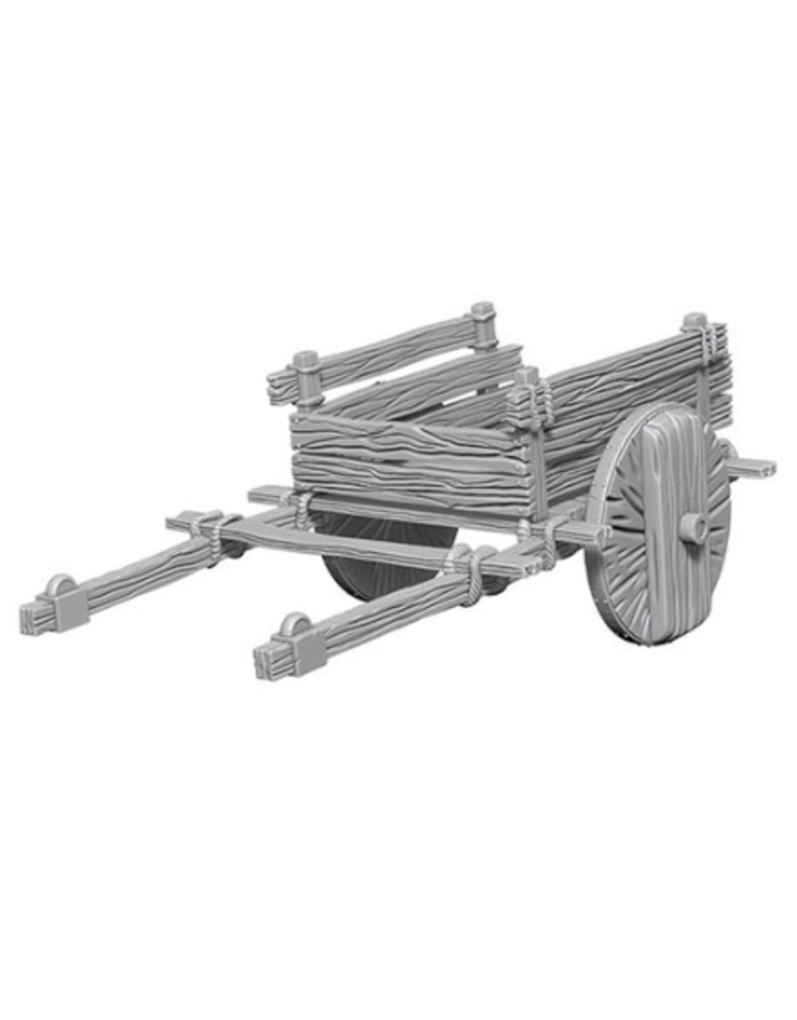 Wizkids 2 Wheel Cart: Deep Cuts Unpainted Minis
