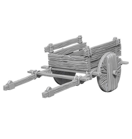 Wizkids 2 Wheel Cart: Deep Cuts Unpainted Minis