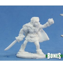 Reaper Bones: Ingrid Female Gnome Rogue